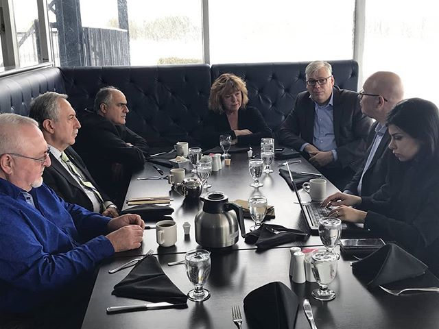 Thank you Minister @steveclarkmpp for meeting with Councillor @gdarouze & @cityofottawa to talk about Municipal Affairs & Housing.