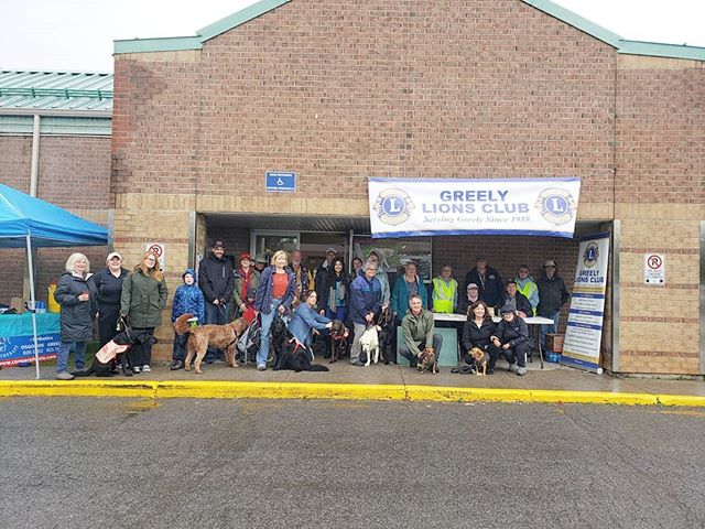 Great to support @canadianguidedogs and The Greely Lions Club at this morning's Walk for Guide Dogs!