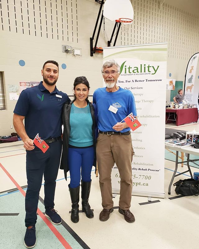 Stopped by the @rscassociation Wellness Fair to see what the community has to offer for better heath!